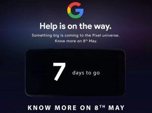 Google Pixel 3a y Pixel 3a XL adelantados por Flipkart se lanzarán en India el 8 de mayo