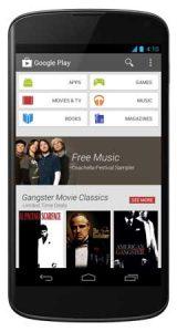 Google Play Store obtiene un importante rediseño de la interfaz de usuario