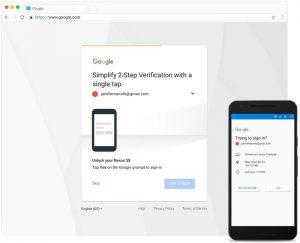 Google comenzará a recomendar un mensaje a los usuarios de la verificación en dos pasos por SMS