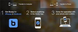 Google compra Bump, la aplicación de transferencia de archivos