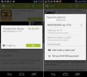 Google en conversaciones con Airtel para introducir la facturación del operador en Play Store