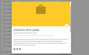 Google espera anunciar Android M en la próxima I / O Developer Conference