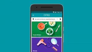 Google lanza Areo en India, una aplicación para entrega de comida y servicios a domicilio