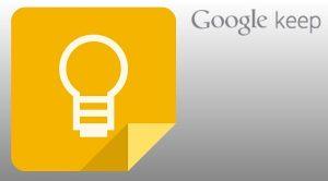 Google lanza el servicio de toma de notas: Keep