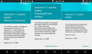 Google lanza la actualización de Android 5.1.1 para teléfonos inteligentes Android One en India