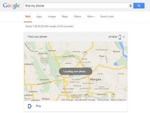 Google lanza la función 'Find My Phone' para la web