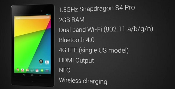 Lanzamiento del nuevo Nexus 7
