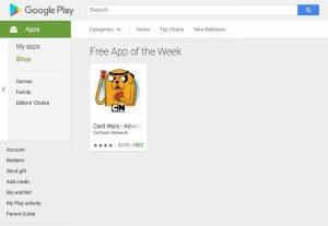 Google ofrecerá una aplicación de pago para Android de forma gratuita todas las semanas en Google Play Store