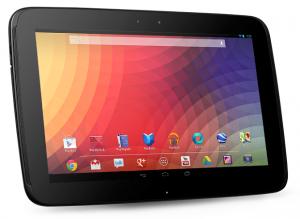 Samsung hizo que Nexus 10 pudiera aparecer en CES;  Pantalla AMOLED incluida