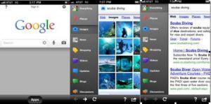 Google renueva su aplicación de búsqueda para iPhone