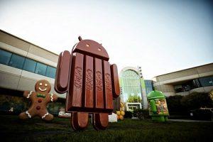 La próxima versión de Android 4.4 nombrada como Android KitKat