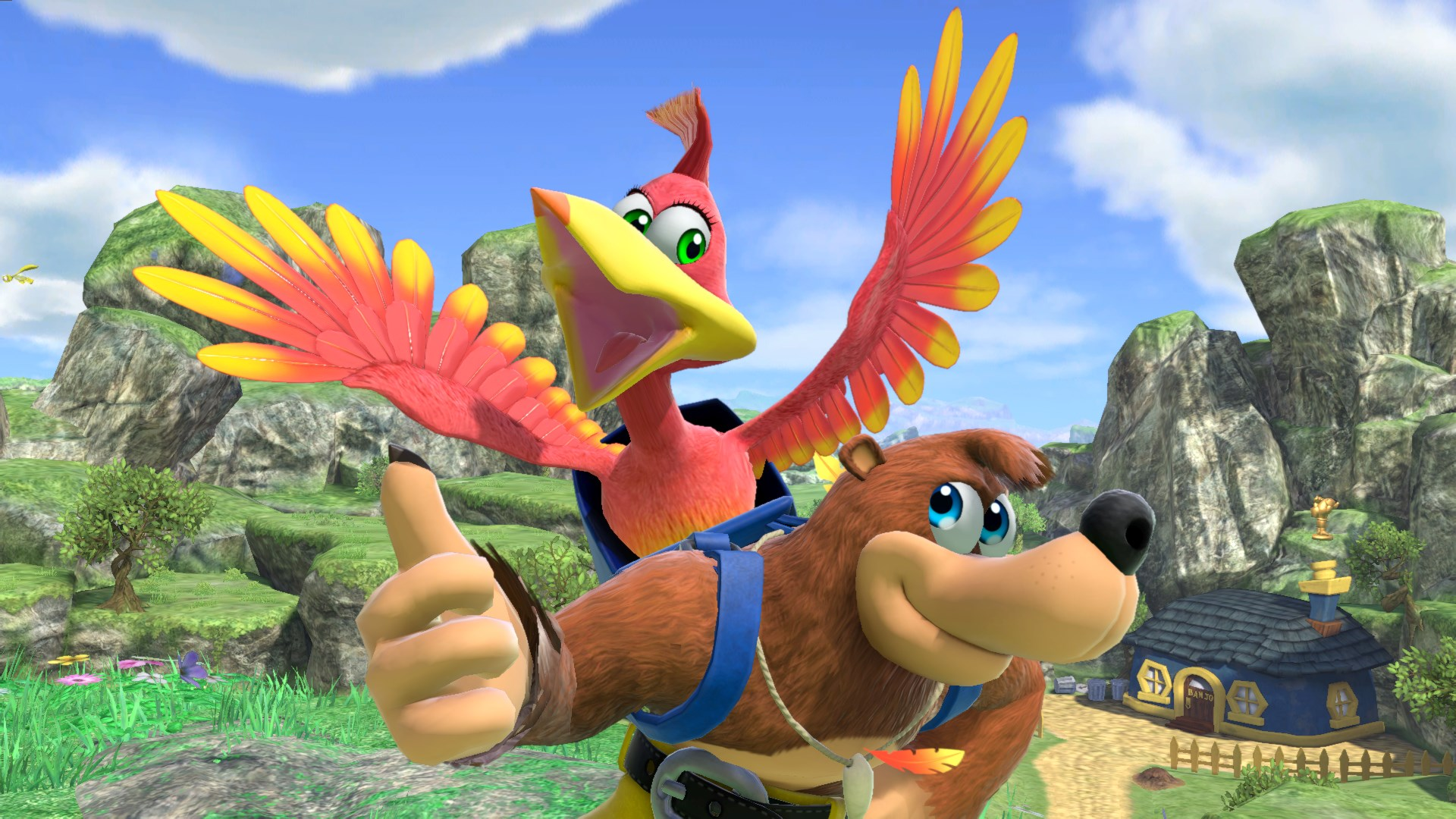 Guía de Super Smash Bros.Ultimate Banjo & Kazooie