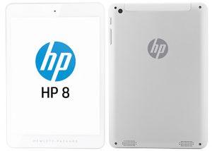HP 8 1401 con pantalla de 7.85 pulgadas y procesador de cuatro núcleos anunciado por $ 170