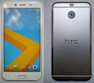 HTC Bolt sin superficies de conector para auriculares de 3,5 mm