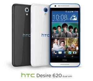 HTC Desire 620 y Desire 620g con pantalla HD de 5 pulgadas y cámara frontal de 5 MP anunciados