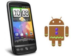 HTC Desire para probar Gingerbread