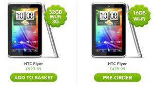HTC Flyer Tablet ahora disponible en Europa