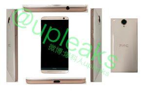 HTC One E9 con una estructura de plástico se filtra en nuevas imágenes