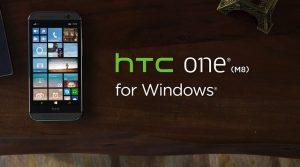 HTC One (M8) para Windows con Windows Phone 8.1 anunciado