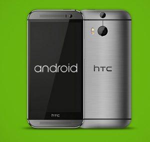 HTC One M8 y HTC One M7 en línea para recibir Android L