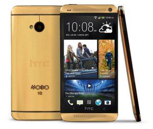 HTC One con oro de 18 quilates confirmado por $ 4400