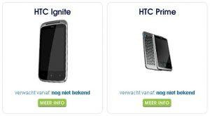 HTC Prime e Ignite, nuevo Windows Phone filtrado