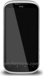 HTC Ruby posa en una toma de prensa