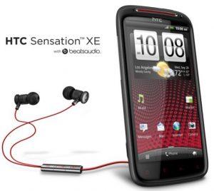 HTC Sensation XE llegará pronto a India a Rs.  32.400