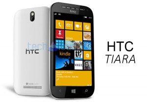 HTC Tiara Windows Phone filtrado
