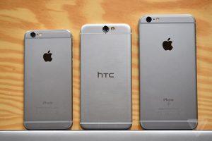 HTC afirma que Apple copió el diseño del One A9 para su iPhone