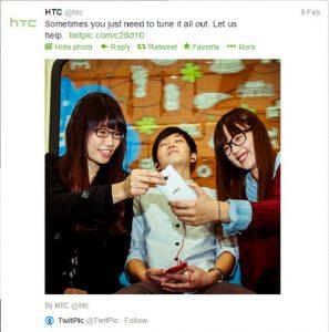 HTC se burla de White 8X en Twitter