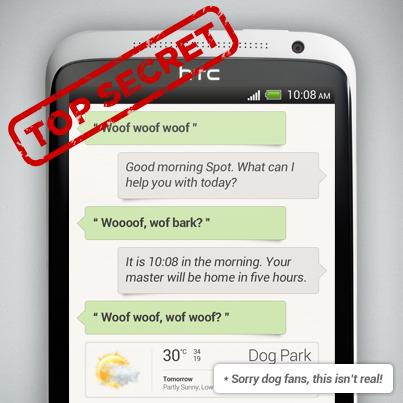 HTC trabajando en una aplicación de asistente de voz similar a Siri