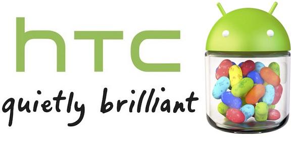 HTC ya está revisando la actualización de Android 4.1 Jelly Bean