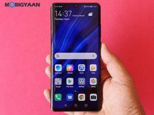 Huawei P30 Pro con Kirin 980 SoC, 8 GB de RAM y configuración de cámara cuádruple lanzada en India