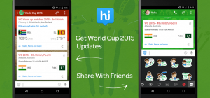 Hike se asocia con CricBuzz y ofrece actualizaciones de la Copa Mundial de Cricket a los usuarios