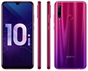 Honor 10i se vuelve oficial;  incluye pantalla FHD + de 6.21 pulgadas, Kirin 710 SoC y cámaras traseras triples