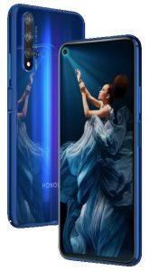 Honor 20 anunciado;  incluye 6 GB de RAM, cámaras traseras triples y batería de 3750 mAh