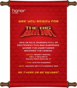 Honor 5X programado para ser lanzado en India el 28 de enero