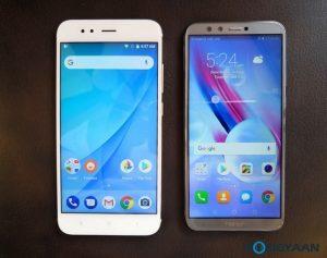 Honor 9 Lite contra Xiaomi Mi A1 [Specs Comparison]