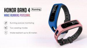 Honor Band 4 Running Edition se lanzó en India con pantalla OLED, monitoreo de postura al correr y más
