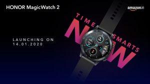Honor Magic Watch 2 y Honor Band 5i se lanzarán en India el 14 de enero