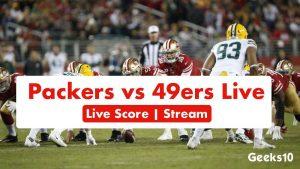 Cómo transmitir Packers vs 49ers Live Score 2020