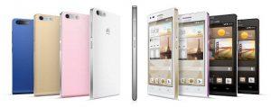 Se anuncia el Huawei Ascend G6 con una pantalla qHD de 4.5 pulgadas