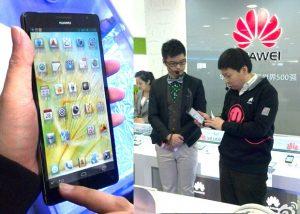 Huawei Ascend Mate: la bestia de cuatro núcleos y 1080p de 6.1 pulgadas mostrada por el CEO antes del CES