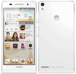 Huawei Ascend P6S, sucesor de Ascend P6, anunciado