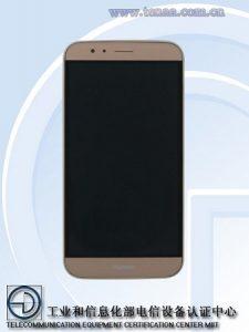 Huawei G8 con diseño sin bisel visto en TENAA