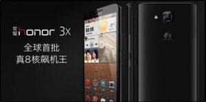 Huawei Honor 3X y Honor 3C con pantalla de 5.5 pulgadas y 5 pulgadas respectivamente anunciados