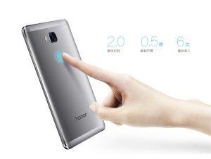 Honor 5X contará con un escáner de huellas dactilares sensible