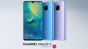 Huawei Mate 20 X anunciado con pantalla OLED de 7.2 pulgadas, Kirin 980 SoC y cámaras traseras triples