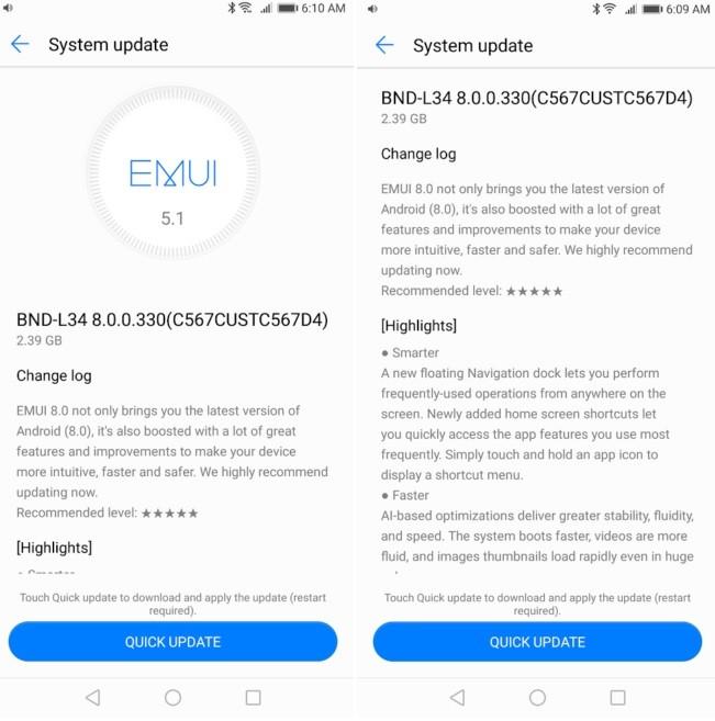 Huawei-mate-se-android-8-actualización-oreo